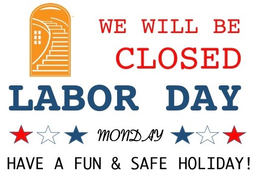 Office Closed: Monday, September 5, 2016
